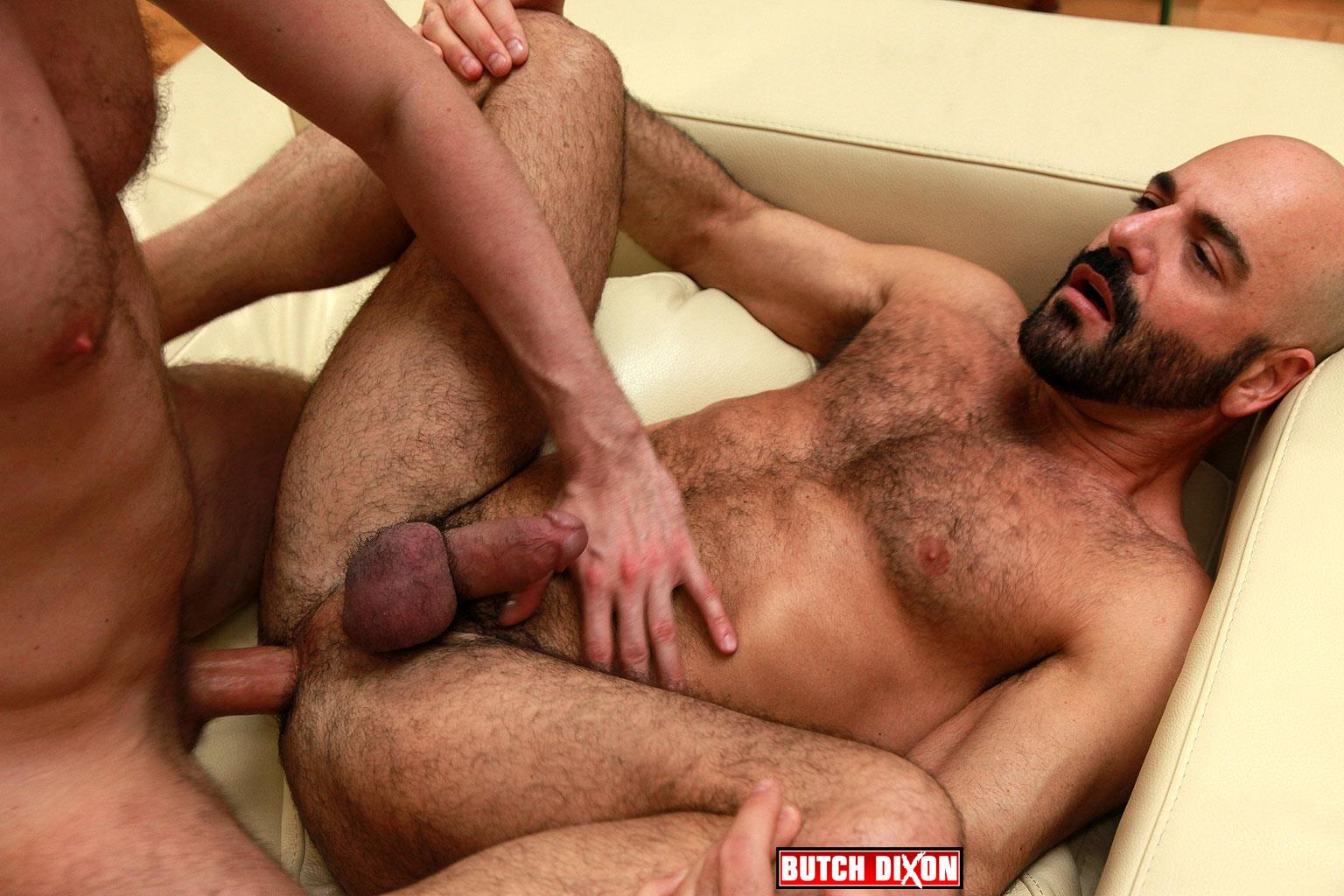 Butch Dixon Adam Russo and Adam Dacre Getting Fucked By A Big Uncut Cock Amateur Gay Porn 06 Adam Russo Getting A Big Bareback Uncut Cock Up His Hairy Ass