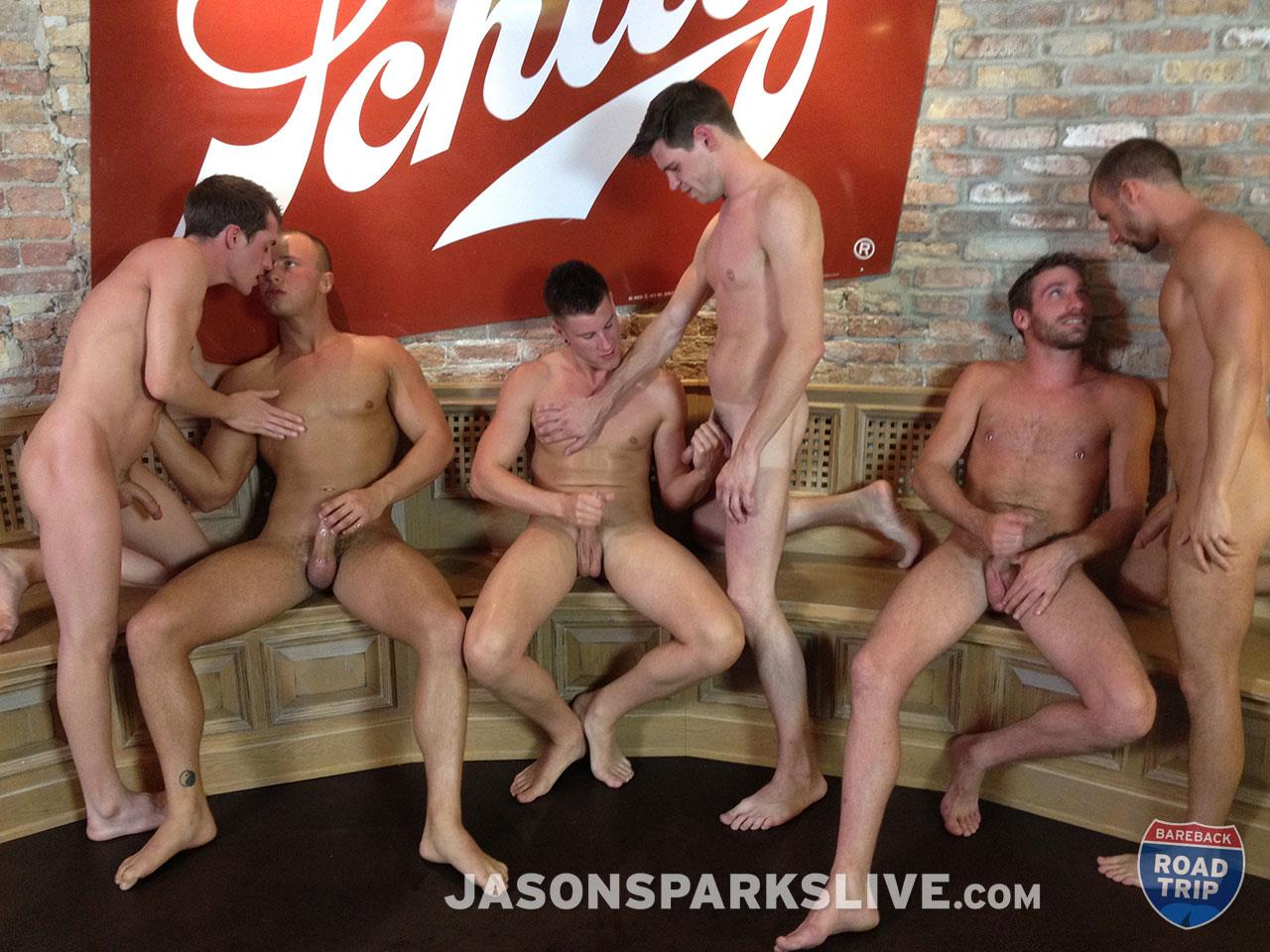 Jason Sparks Live Dustin Tyler Shawn Andrews Brendon Scott Corbin Riley Antonio Paul Jake Matthews Bareback Orgy Amateur Gay Porn 13 Big Cock Amateur Bareback Orgy in Milwaukee