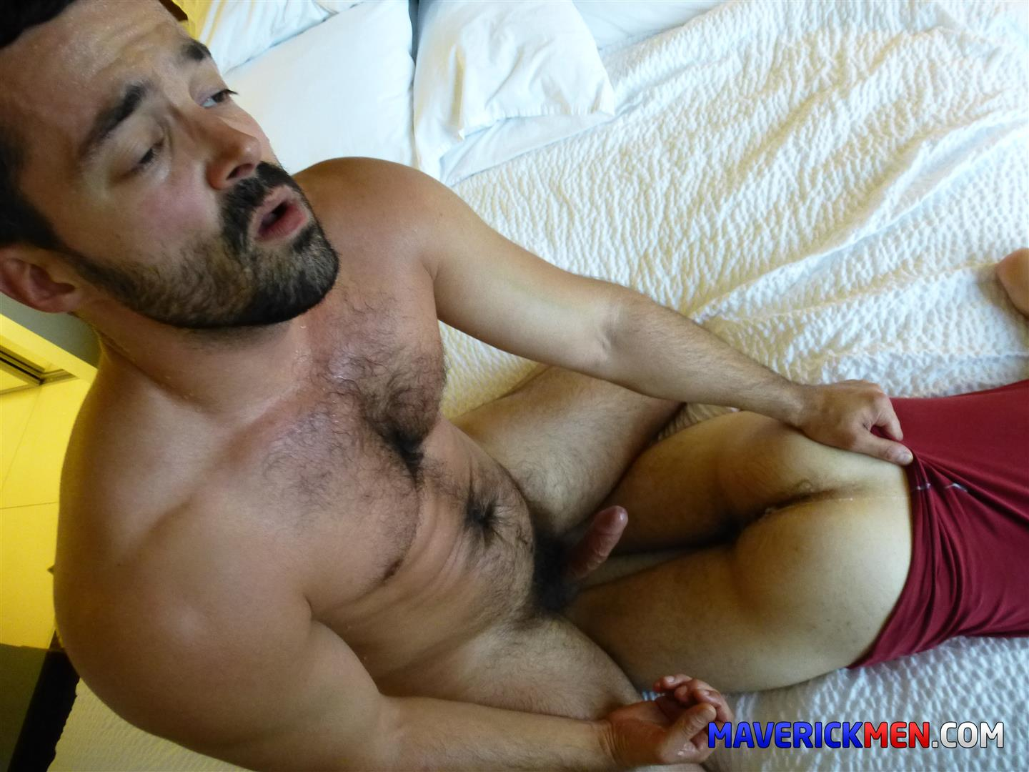 Maverick-Men-Little-Bobby-Hairy-Ass-Virgin-Gets-Barebacked-Amateur-Gay-Porn-10 Hairy Ass Young Virgin Gets Barebacked By Two Muscle Daddies