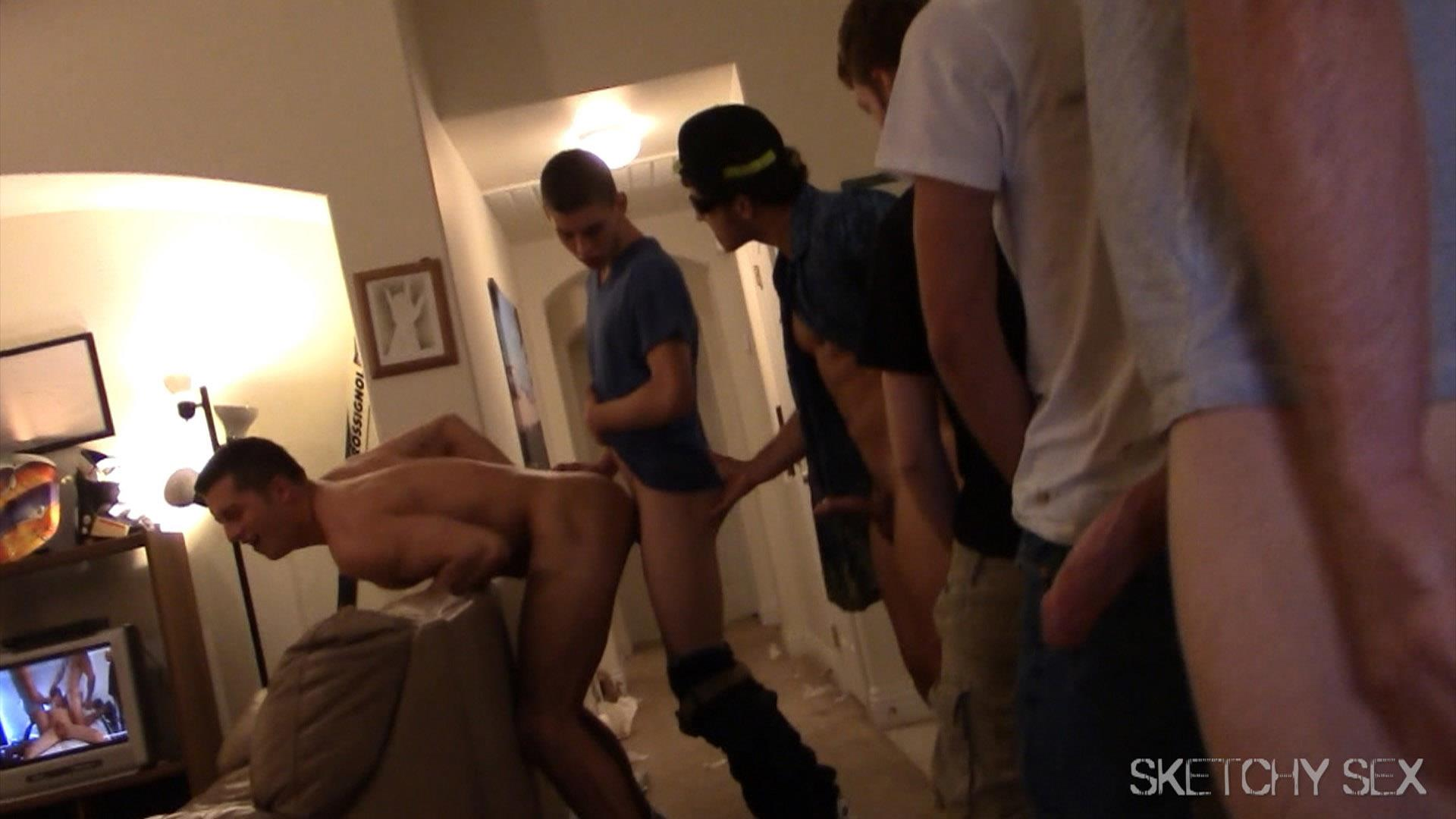 Sketchy Sex Anonymous Bareback Sex Party Amateur Gay Porn 13 What Happens When 2 Bottoms Host An Anonymous Bareback Sex Party?