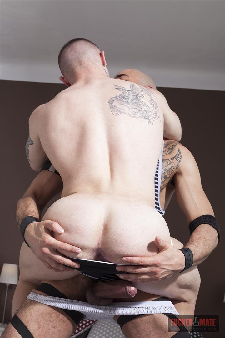 Fuckermate Carlo Fiero and Dalton Sirius Big Uncut Cock Bareback Amateur Gay Porn 6 Tatted Muscled Spaniard Gets Barebacked By A Huge Uncut Cock